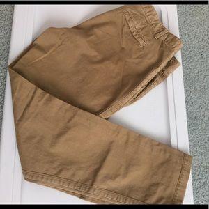 GAP woman's tan pants size 10